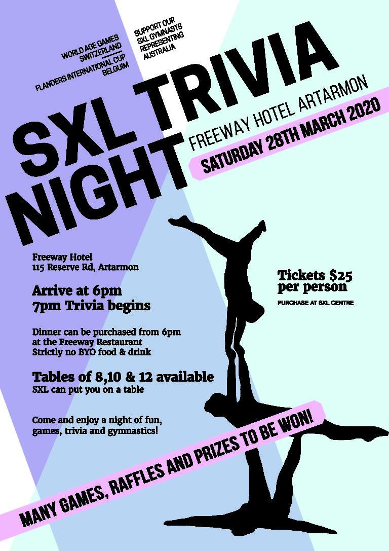 SXL-Trivia Night